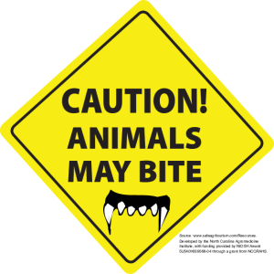 Animals May Bite (English)